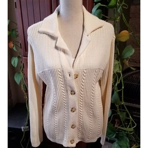 🆕️NWOT Liz Claiborne Sport Button Down Cardigan